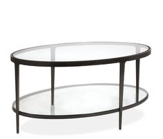 Clooney Oval Coffee Table