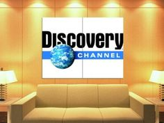 Amazon.com - XJ3571 Discovery Channel Logo TV HUGE GIANT WALL Print POSTER