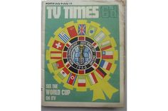 1966 World Cup, England, a pair of Television Magazines, in various condition, the Raido Times an