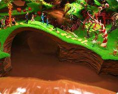 chocolate milk river?