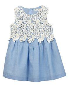 Chambray Dress With Lace Yoke Beebay http://www.amazon.com/dp/B00VYQRDM2/ref=cm_sw_r_pi_dp_kRnsvb1JGACV5