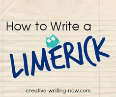 Teach kids how to write a limerick in a few easy steps!