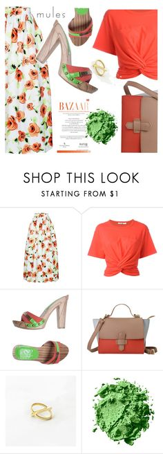 """Orange roses"" by deeyanago ❤ liked on Polyvore featuring T By Alexander Wang and Sweet Years"
