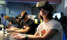 With the release of the Oculus Rift, the HTC Vive, and the Sony PlayStation VR, gamers now have three well-supported virtual reality platforms, but these products didn't just spring up out of nowhere. Google Glass, Virtual Reality Headset, Augmented Reality, Reality Apps, Oculus Vr, Vr Games, Video Games, Head Games, Xbox Games