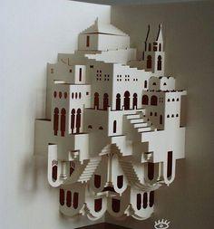 #popUp #papercutting