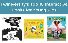 Twiniversity's Top 10 Interactive Books for Young Kids