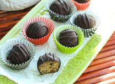Avocado Peanut Butter Balls