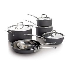 8 piece cookware set from crate and barrel $199