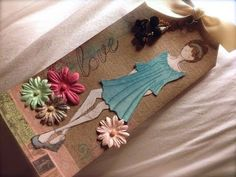 Prima Doll Tags - new Prima stamps & papers