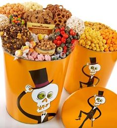 Catalog Spree - Mr Bone Jangles Deluxe Snack And 3-Flavor Popcorn - 3-1/2 Gallon Deluxe Snack - The Popcorn Factory