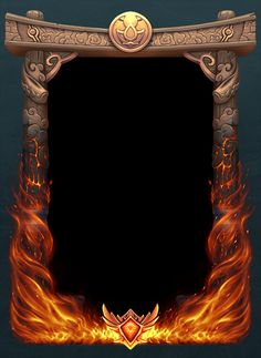 This was our first Loading Frame for Paladins and it was tied to our Seige of Ascension Peak event. Banner Background Images, Background Templates, Wattpad Background, Game Card Design, Hd Phone Wallpapers, Flame Art, 3d Modelle, Design Art, Graphic Design