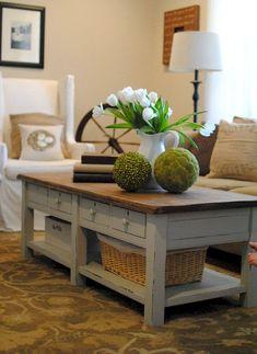 Elegant Farmhouse Table Living Room Layouts