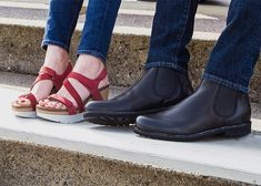 cf1a0b949116 OTBT has the perfect game day shoes for you and your man.  football