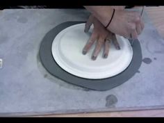 Slab Built and Pressed Plates - YouTube