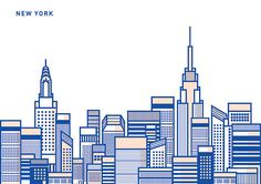 The Skyline Framework on Behance