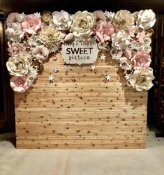 Paper Flower Wall Rental Paper Flower Wall Rentals and Paper Flower Arch Rental for Weddings, bridal Paper Flower Backdrop Wedding, Paper Flower Centerpieces, Paper Flower Wall, Paper Flowers, Wedding Centerpieces, Wedding Flowers, Giant Flowers, Ceremony Backdrop, Wedding Dresses