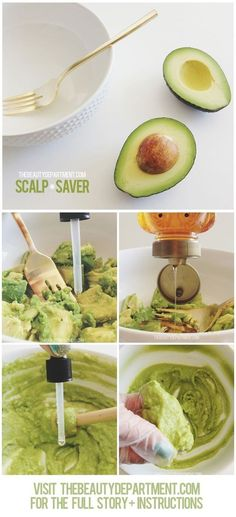 scalp saver | 21 healthy hair DIY treatments for summer-starved hair