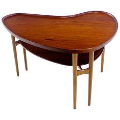 Arne Vodder Teak and Oak Table