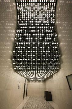 Neue Mainzer Str. | OLEDWorks Architectural Lighting Design, Light Architecture, Light Installation, Lighting Solutions, Black Forest, Skyscraper, Building, Skyscrapers, Buildings