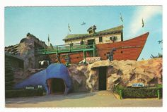KENNYWOOD!!!!  (As a child of the 80's, there is nothing more nostalgic for me than the whale entrance to Noah's Ark at Kennywood).