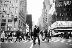 christmas time in NYC. Another great time and place for engagement photos