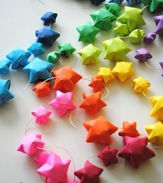 I need to make one of these! (the origami stars are easy to make)