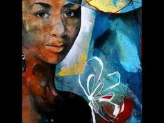 """Carole Bressan """"Le geste poétique"""" / Peintures"""