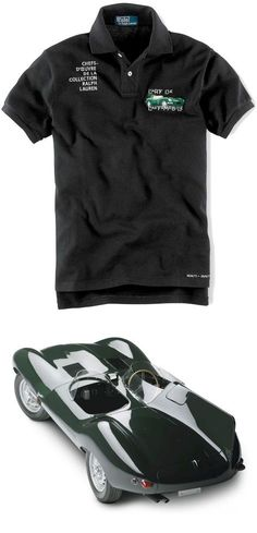 Cette chemise ajustée Ralph Lauren Polo est brodée d un motif de voiture  inspiré par 68f0fdcad8f