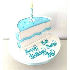 Birthday Cake Ideas For Boy And Girl Twins Amazing Half 6 Month 2nd