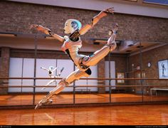 BalletBot in Dance Studio by Anatole Branch