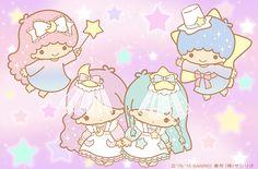 Little Twin Stars My Melody Wallpaper, Sanrio Wallpaper, Hello Kitty Wallpaper, Kawaii Wallpaper, Sanrio Characters, Cute Characters, Little Twin Stars, Little Star, Badtz Maru