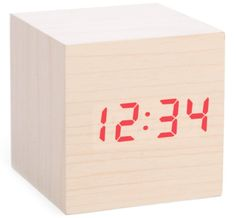 """""""You don't need a $400 phone to be your alarm clock,"""" Greenfield says. A cheapo alarm clock will work just fine (or the very cool cube one pictured above from Uncommon Goods). Keeping your phone away from where you're sleeping means that you don't have easy access to it before you go to sleep or right after you get up. This will make falling asleep easier... and it'll also make it easier to get out of bed and on with your day in the mornings. """"Before you go to bed and after you wake up, you…"""