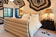See more of Kelly Wearstler, Inc.'s Evergreen on 1stdibs Kelly Green Bedrooms, Bedroom Green, Bedroom Decor, Bedroom Ideas, Ivory Bedroom, Ikea Bedroom, Bedroom Furniture, Master Bedroom Design, Modern Bedroom