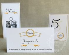 "Place-card / plic de bani nunta vintage, elegant – ""MAIA"" Place Cards, Place Card Holders, Elegant, Vintage, Classy, Vintage Comics, Chic"