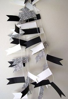 Washi Tape Garland