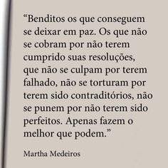 Martha Medeiros (O melhor que posso, sempre ♥)