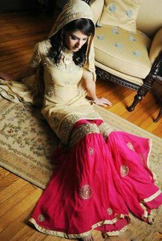 Beautiful Bridal Sharara