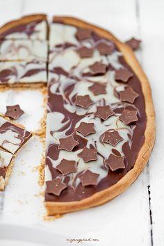 Mazurek czekoladowy 'Noc i dzień'