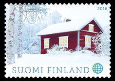 Joulupostimerkki 2016 - Christmas postage stamp 2016 Finland