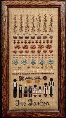 The Garden by Told in a Garden - Cross Stitch Kits & Patterns