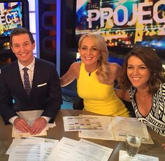 Rove, Carrie and Gorgi #theprojecttv
