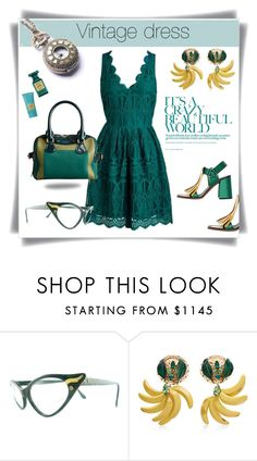 """""""Vintage"""" by maytal-gazit ❤ liked on Polyvore featuring Alexander McQueen, Tom Ford, Dolce&Gabbana and vintage"""