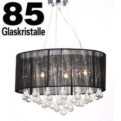 Details Zu 12 Flammig Leuchte Kronleuchter Lüster Deckenleuchte  Hängeleuchte Lampe Glas