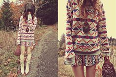 (by Ashlei Louise) http://lookbook.nu/look/2688275-I-love-my-new-cowboy-boots-feather-waistband
