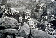 Early women pioneers.