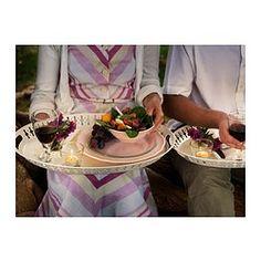 $14.99 52x39 cm white  ROMANTISK Tray - IKEA ♥ lovely ideal