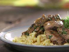 Filet de porc aux champignons Filets, Risotto, Pork, Tasty, Dishes, Chicken, Ethnic Recipes, Cactus, Cooker Recipes