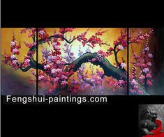 Cherry Blossom Paintings | Chinese Cherry Blossom Painting
