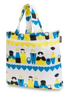 Oma perhe -shopping bag, www.finlayson.fi