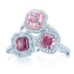 Pink Diamond Engagement Ring Tiffany
